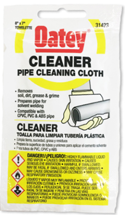 31423 PIPE CLEANING CLOT