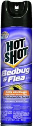 HG96114 HOT SHOT BED BUG N FLEA KILLR AER 17.5 OZ