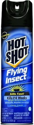 HG96310 HOT SHOT FLYING INSECT KILLER 15 OZ