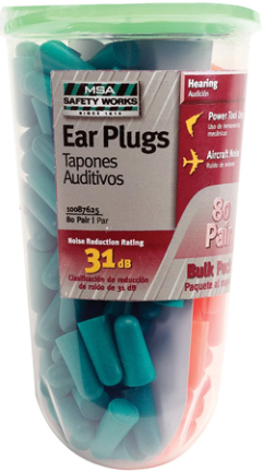 SWX00349-01 80 PAIR FOAM EAR PLUGS