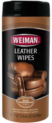 91 WIPE LEATHER CANISTER 30 CT