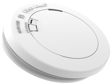 1039852 10 YEAR SMOKE ALARM WITH SILENCE BUTTO