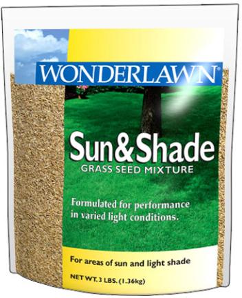 12145 3LB SUN   SHADE GRASS SEED
