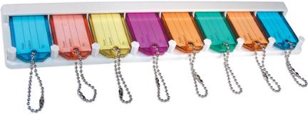 710930 Assorted Colors Key Rack