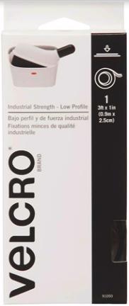 91050 VELCRO® Brand ULTRA MATE 3FT. BLK