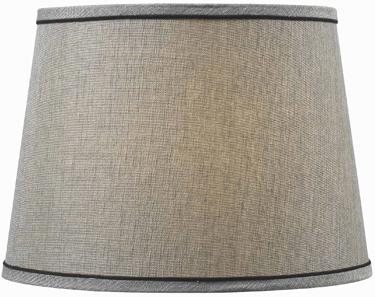 FMSH802-15-SIL 15 SILVER LAMP SHADE