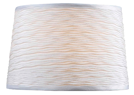 FMSH107-15-WH 15  WHITE LAMP SHADE