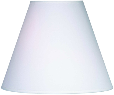 FMSH921-14-WH 14  WHITE LAMP SHADE