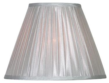 FMSHH215-15-SIL 15 SILVER LAMP SHADE