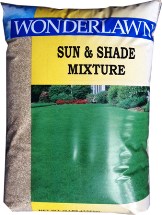 12141 GRASS SEED 10 LBS SUN AND SHADE