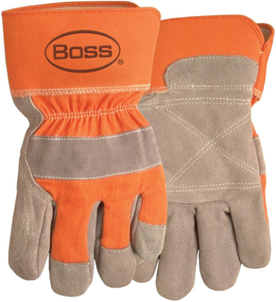 2393 GLOVES LEATHER PALM SPLIT DOUBLE