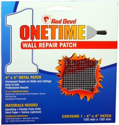 1214 ONETIME WALL REPAIR PATCH 4 X 4