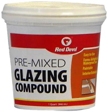 661 GLAZING COMPOUND WHITE GALLONS