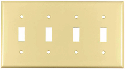 2154V-BOX SWITCHPLATE SMOOTH IV