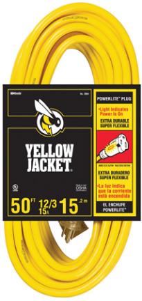 2887 50  14/3 YELLOW JACKET CORD