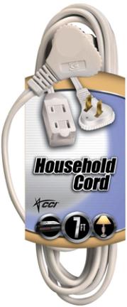094178901 Cube Tap Cord 16/2 Spt-2 White