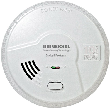 MDSK300S SMOKE DETECTOR 2 N 1 10 YR BATTERY WT