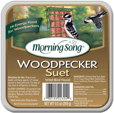11462 SUET MORNING SONG WOODPECKER 12/9.5 OZ