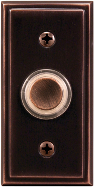 Sl-602-02 Button Lighted Copper W/red
