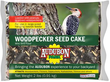 11931 BIRD FOOD WOODPECKER SNACK 2 LB