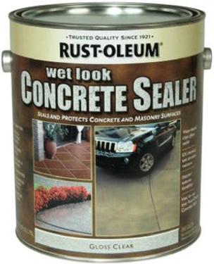 239416 Concrete Stain Sealer Wet Look Gallon