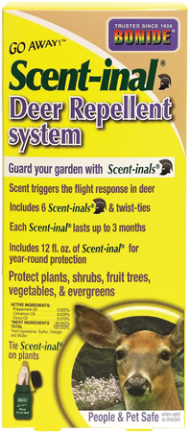 231 DEER REPELLENT SCENTINALS GO AWAY 6PK