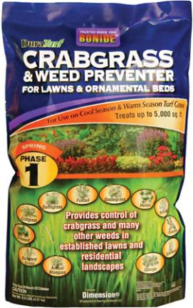 60407 WEED PREVENTER W/DIMENSION 4 LB
