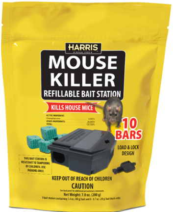Mbars Mouse Kill 10bars W/refillable Station