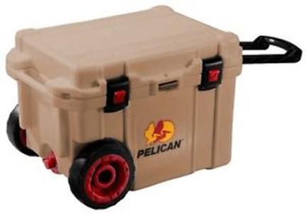 32-45qw-oc-tan Cooler 45 Qt Elite Wheeled Tan