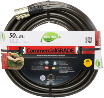 CELIH58050 5/8 X 50 ELEMENT HOSE-LEAD FREE(C
