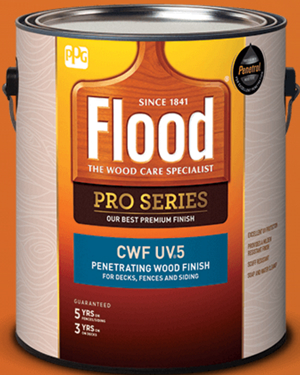 FLD567/01 FLOOD CWF-UV5 GAL CANYON BROWN 275 VOC