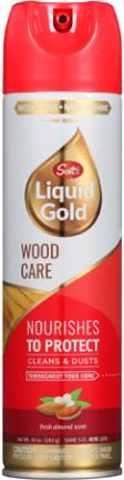 A-10(A-15)WOOD CLEANER 10OZ LIQUID GOLD