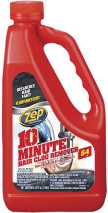 ZHCR64NG6 HAIR CLOG REMOVER 64OZ 10MIN ZEP