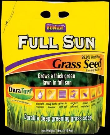 60202 GRASS SEED FULL SUN 3 LB (60201)