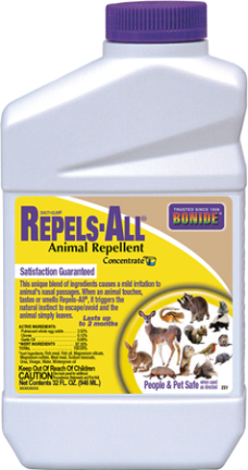 237 REPELS ALL ANIMAL REPELLENT QT CONC