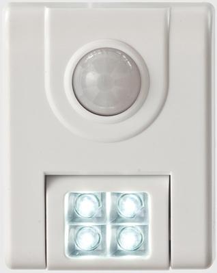 20043-308 4 Led Sensor Light 24 Lumens White