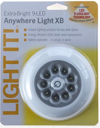 30015-308 9 LED LIGHT XB 40.5 LUMENS WHITE