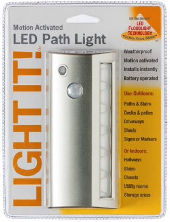 20032-301 6 LED PATH LIG HT 42 LUMENS SILVER