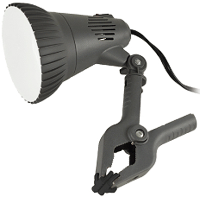 CL-500 500 LUMEN GRAY CLAMP LAMP