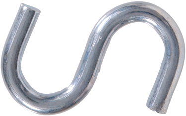 322118 2 1/2 X 2 Zinc S Hook