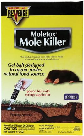 Killer 693 3 Oz Mole Baited Gel