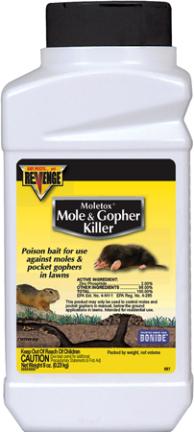 697 Killer  8 Oz Mole   Gopher