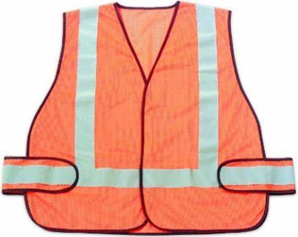 RWS-50003 SAFETY VEST HI VIS OR ANSI CERTIFIED