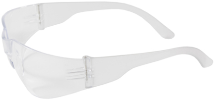 250-01-0900 SAFETY GLASS Z12 CL LENS   TEMPLE