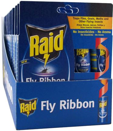 FR10B-RAID FLY/BUG RIBBON 10CT