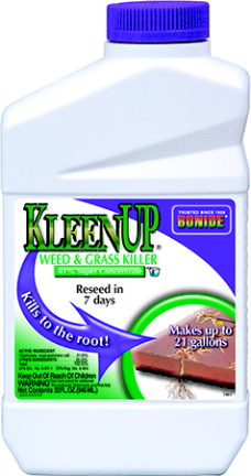 7461 GRASS/WEED KILL KLEEN UP 41 PERCENT CONC