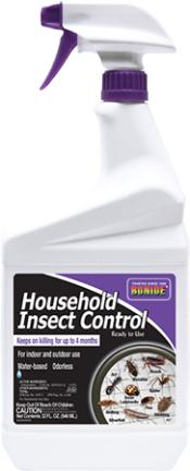 527 INSECT CONTROL QT RTU HOUSEHOLD