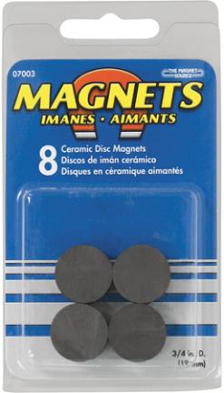 07003 Ceramic Disc Magnet8pcs