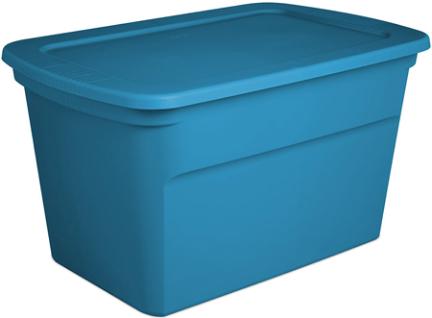 17364306 TOTE 30 GAL BLUE