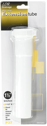 506-6263 PVC SLIP EXT.11 WSH